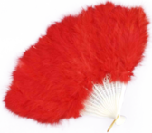 Red Feather Fan PSD