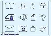 Outlined Icons Set