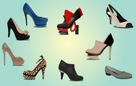 Fashionable Ladies Shoe Pack