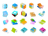 Book Series Icon Vector Graphic Of The Eight