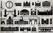 23 Vector London sightseeing