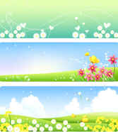 Free Vector Nature Spring Flowers