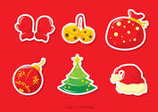 Christmas Jingle Bells Vector Pack Two