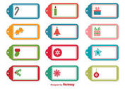 Christmas Vector Tags