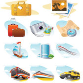 Travel topic icon