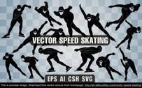 14 Vector speed skating