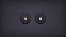 Circular and Rounded Buttons