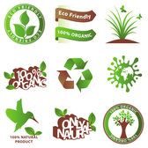 Green icons