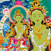 Thangka Ai Bodies Of Law, Vajradhara Vector (Toll Stations Do Not Change)