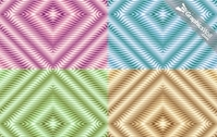 Four Seamless Vector Pattern