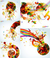 The Trend Of Colorful Graphics - Vector Color Gorgeous Beautiful