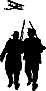 World War I Silhouette