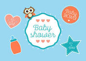 Baby Shower Vectors