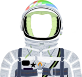 Moon man suit (kid cudi) PSD