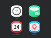4 Icons [PSD]