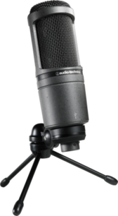Interview microphone on tripod PSD