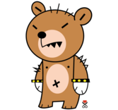 Cute Bear Cartoon Character