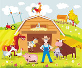 Cartoon farm 02