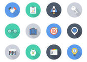 Free Flat Business Vector Icons