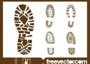 Shoe Print Graphics