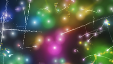 Rainbow Sparkles Background PSD
