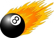Ball With Flames