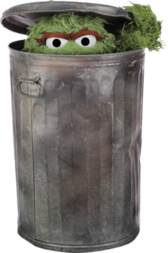OSCAR THE GROUCH PSD