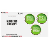 VECTOR NUMBERED BANNERS.eps