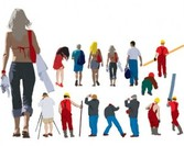 illustrations of professional workers