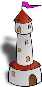 Round Tower With Flag 2