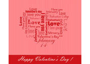 Free Vector Background for Valentines Day