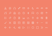50 Simple Web Stroke Icons Pack