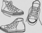 Stock Illustrations Vector Sneakers