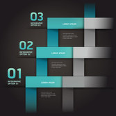 Infographic creative design vector set