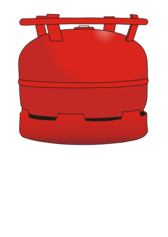 gas bottle 6 kg
