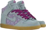 Nike dunks liberty fabric PSD
