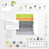 Vector infographics collection