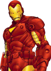 Iron Man (Marvel) PSD