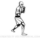 MMA FIGHTER VECTOR GRAPHICS.eps