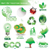 Green Vector Icons