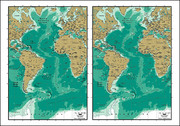 Vector Map Of The World Exquisite Material - Atlantic Maps
