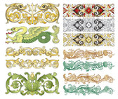 Vector Chinese Classical Patterns Vector Chinese