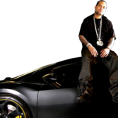 Boo Rossini Sittin On Lambo PSD