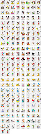 """Disney's """"Mickey Mouse and Donald Duck"""" vector image 203"""