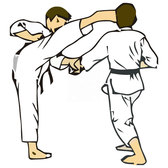 KARATE libre VECTOR CLIP ART.eps