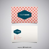 Vector business card free for download