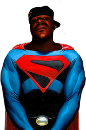 Black Superman PSD