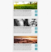 Light Blue Simple Portfolio Page PSD
