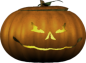 Little Jack'O'Lantern PSD