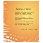 HALFTONE BACKGROUND TEMPLATE VECTOR.eps